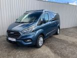 FORD TRANSIT CUSTOM 2.0TDCI 300 LIMITED STYLE LWB CAMPER ** ROCK 'N' ROLL BED ** POP TOP ** 4 BERTH ** NIGHT HEATER ** NO VAT ** NO VAT**10 YEAR FINANCE OPRTIONS!! - 1794 - 34