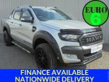 FORD RANGER 3.2TDCI 200PS WILDTRAK AUTO  BLACK HAWK SPECIAL EDITION ** RUGGED OFF ROAD PACK ** GENERAL GRABBER A/T TYRES AND WHEELS - 1817 - 1
