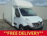 RENAULT MASTER 2.3DCI LL35 BUSINESS ** LOW LOADER ** 4.1M BODY ** HIGH CAPACITY ** EURO 6 ** AIR CON ** CRUISE ** BRAND NEW ** IN STOCK ** - 1671 - 1