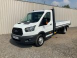 FORD TRANSIT 350 L4 ONE STOP 4 METRE DROPSIDE ** DOUBLE REAR WHEEL ** EURO 6 ** - 2115 - 3