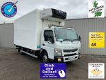 MITSUBISHI CANTER  7C15 38 - 7.5 TONNE - 13 FT 8 CARRIER INSULATED FRIDGE ** OVERNIGHT STANDBY ** REVERSE CAMERA ** - 2326 - 1