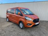 FORD TRANSIT CUSTOM 2.0TDCI 300 LIMITED LWB L2 ** DELIVERY MILES ** 4 BERTH POP TOP CAMPER ** ROCK 'N' ROLL BED ** NO VAT!! NO VAT**10 YEAR FINANCE OPTIONS!! - 1818 - 19