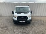 FORD TRANSIT T350 SINGLE CAB L3 ONE STOP ALLOY TIPPER  2.0L 130PS - DOUBLE REAR WHEEL -ECO BLUE EURO 6   - 2127 - 4