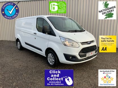 Used FORD TRANSIT CUSTOM in Castleford West Yorkshire for sale