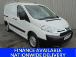 CITROEN DISPATCH 1.6HDI 1000 L1 H1 ** ROOF BARS ** TWIN SIDE LOAD DOORS ** VERY CLEAN - 1809 - 1