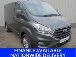 FORD TRANSIT CUSTOM 2.0TDCI 300 LIMITED L1 H1 ** SWB ** LOW ROOF ** 130BHP ** AIR CON ** ALLOYS - 1597 - 1