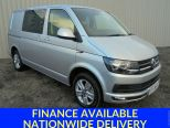VOLKSWAGEN TRANSPORTER 2.0 TDI 204 DSG T30 5 SEATER KOMBI HIGHLINE BMT **ONE OWNER FROM NEW ** TWIN SIDE LOADING DOORS ** TAILGATE** POWERFUL 204 BHP ENGINE **  - 1071 - 1