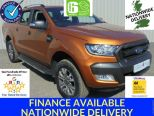 FORD RANGER 3.2 TDCI 200 AUTO WILDTRAK 4X4 DCB ** SAT NAV ** ONE OWNER FROM NEW **LOW MILEAGE ** AS NEW ** - 1056 - 1