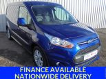 FORD TRANSIT CONNECT 1.6TDCI 240 LIMITED ** L2 LWB ** TOP SPEC ** AIR CON ** ALLOYS - 1624 - 1
