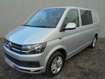 VOLKSWAGEN TRANSPORTER 2.0 TDI 204 DSG T30 5 SEATER KOMBI HIGHLINE BMT **ONE OWNER FROM NEW ** TWIN SIDE LOADING DOORS ** TAILGATE** POWERFUL 204 BHP ENGINE **  - 1071 - 4