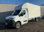 RENAULT MASTER 4.1 METRE GRP LUTON + TAIL LIFT ** EURO 6.2 ENGINE ** NEW UNREGISTERED ** IN STOCK ** DRIVERS PACK ** A/C ** SAT NAV ** CRUISE CONTROL ** - 2215 - 3