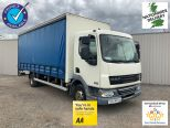 DAF LF45 160 7.5 TONNE 20 FT CURTAINSIDER + TAILLIFT ** EX MOD ** 59000 MILES **ADD BLUE MODEL **  - 2146 - 1