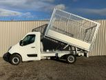 RENAULT MASTER 3500 KG GROSS WEIGHT TIPPER + FULLY GALVANISED CAGE -  LIGHT WEIGHT ALLOY BODY .** BRAND NEW ** IN STOCK ** DRIVE AWAY TODAY ** EURO 6 **   - 2243 - 6