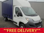 CITROEN RELAY 2.0 HDI 130 EURO 6 3500 KG - 4.3 METRE / 13 FT 6 CURTAINSIDER  WITH TAIL LIFT  AND ROLLER SHUTTER DOOR ** 68 REG ** - 1147 - 1