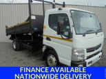 MITSUBISHI CANTER 3.0 7C15 34 AUTO ** TIPPER ** TAR CHUTES ** LOW KMs - 1536 - 1