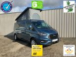 FORD TRANSIT CUSTOM 2.0TDCI 300 LIMITED STYLE LWB CAMPER ** ROCK 'N' ROLL BED ** POP TOP ** 4 BERTH ** NIGHT HEATER ** NO VAT ** NO VAT**10 YEAR FINANCE OPRTIONS!! - 1794 - 1