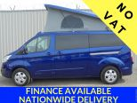FORD TRANSIT CUSTOM 2.0TDCI 170 LIMITED LWB ** 4 BERTH POP TOP CAMPER ** BRAND NEW DELIVERY MILES ** NO VAT !! NO VAT !!   - 1426 - 1