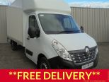 RENAULT MASTER 2.3DCI LL35 130 BUSINESS EURO 6 **4.1 METRE GRP LIGHTWEIGHT LUTON + TAIL LIFT ** BRAND NEW ** IN STOCK ** READY TO ROLL  - 1556 - 1