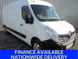 RENAULT MASTER 2.3 DCI 125 LM35 BUSINESS + ** ONE OWNER FROM NEW ** AIR CON ** BLUETOOTH** NATIONWIDE DELIVERY ** CHOICE OF TWO ** - 1050 - 1