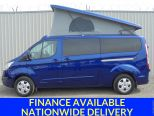 FORD TRANSIT CUSTOM 2.0TDCI 170 LIMITED LWB ** PF-JONES CONVERSION ** ICE PACK ** POP TOP ** CAMPER ** NAV  ** EBERSPACHER ** ROCK AND ROLL BED - 1426 - 1