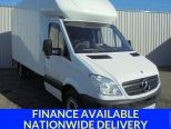 MERCEDES SPRINTER 313 CDI LUTON ** LIGHT WEIGHT ALLOY BODIES BOX ** 4.1M BOX ** TAILLIFT - 1623 - 1