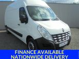 RENAULT MASTER 2.3DCI LH35 BUSINESS ** L3 H3 ** LWB ** HIGH ROOF ** RARE - 1619 - 1