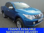 MITSUBISHI L200 2.4 DI-D 4X4 WARRIOR LONGBED D/CAB ** LEATHER ** NAV **  - 1402 - 1