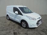 FORD TRANSIT CONNECT 1.5 TDCI 120 200 L1  LIMITED  ** SAT NAV **3 SEATER ** DELIVERY MILEAGE ** BUY FROM £62 P/W ** - 1218 - 1