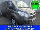 FORD TRANSIT CUSTOM 2.0TDCI 290 DCIV LIMITED L2 H1 ** EURO 6 ** 130BHP ** 6 SEATS ** AIR CON ** ALLOYS - 1658 - 1