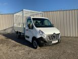 RENAULT MASTER 3500 KG GROSS WEIGHT TIPPER + FULLY GALVANISED CAGE -  LIGHT WEIGHT ALLOY BODY .** BRAND NEW ** IN STOCK ** DRIVE AWAY TODAY ** EURO 6 **   - 2243 - 7