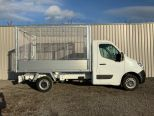 RENAULT MASTER 3500 KG GROSS WEIGHT TIPPER + FULLY GALVANISED CAGE -  LIGHT WEIGHT ALLOY BODY .** BRAND NEW ** IN STOCK ** DRIVE AWAY TODAY ** EURO 6 **   - 2243 - 15