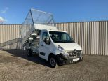 RENAULT MASTER 3500 KG GROSS WEIGHT TIPPER + FULLY GALVANISED CAGE -  LIGHT WEIGHT ALLOY BODY .** BRAND NEW ** IN STOCK ** DRIVE AWAY TODAY ** EURO 6 **   - 2243 - 2