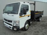 MITSUBISHI CANTER 3.0 7C15 34 AUTO ** TIPPER ** TAR CHUTES ** LOW KMs - 1536 - 4