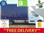 RENAULT MASTER 2.3DCI BUSINESS LL35 130 EURO 6 ** 4.1M CURTAINSIDE ** BRAND NEW  UNREGISTERED ** IN STOCK **DRIVE AWAY TODAY  - 1551 - 1