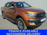 FORD RANGER 3.2 TDCI 200 AUTO WILDTRAK 4X4 DCB ** SAT NAV ** ONE OWNER FROM NEW **LOW MILEAGE ** AS NEW ** - 1056 - 19