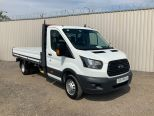 FORD TRANSIT 350 L4 ONE STOP 4 METRE DROPSIDE ** DOUBLE REAR WHEEL ** EURO 6 ** - 2115 - 9