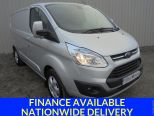 FORD TRANSIT CUSTOM 2.2TDCI 290 LIMITED ** L1 SWB ** H1 LOWROOF ** ALLOYS ** AIRCON ** PARKING SENSORS - 1585 - 1