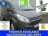 FORD TRANSIT CUSTOM 2.0TDCI 290 LIMITED L1 H1 ** EURO 6 ** AIR CON ** ALLOYS ** MAGNETIC GREY ** PARKING CAMERA ** 240V INVERTOR - 1655 - 1