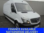 MERCEDES SPRINTER 2.1CDI 313 LWB ** 4.1 METER LOAD LENGTH ** CRUISE CONTROL ** HIGH ROOF - 1635 - 1