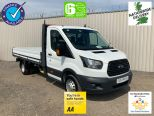 FORD TRANSIT 350 L4 ONE STOP 4 METRE DROPSIDE ** DOUBLE REAR WHEEL ** EURO 6 ** - 2115 - 1