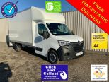 RENAULT MASTER 4.1 METRE GRP LUTON + TAIL LIFT ** EURO 6.2 ENGINE ** NEW UNREGISTERED ** IN STOCK ** DRIVERS PACK ** A/C ** SAT NAV ** CRUISE CONTROL ** - 2215 - 1