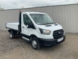 FORD TRANSIT T350 SINGLE CAB L3 ONE STOP ALLOY TIPPER  2.0L 130PS - DOUBLE REAR WHEEL -ECO BLUE EURO 6   - 2127 - 3