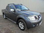 NISSAN NAVARA 2.5 DCI TEKNA CONNECT MAN ** ONE OWNER FROM NEW ** FSH ** SAT NAV ** REAR PARK CAMERA ** BUY FROM £64 P/W ** - 1398 - 1