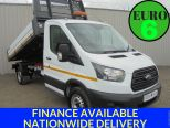 FORD TRANSIT 2.0TDCI 350 L2 TIPPER ** EURO 6 COMPLIANT ** VERY LOW MILES - 1689 - 1
