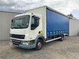 DAF LF45 160 7.5 TONNE 20 FT CURTAINSIDER + TAILLIFT ** EX MOD ** 59000 MILES **ADD BLUE MODEL **  - 2146 - 3