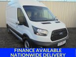 FORD TRANSIT 2.0TDCI 350 L3 H3 ** 130BHP ** LWB ** HIGHROOF ** ULEZ/EURO6 ** UPGRADED SECURITY - 1621 - 1
