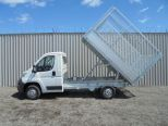 CITROEN RELAY 2.0 BLUEHDI 335 L2 CAGED TIPPER ** 165BHP  EURO 6.2**A/C ** BRAND NEW 70 REG ** - 1854 - 16