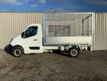 RENAULT MASTER 3500 KG GROSS WEIGHT TIPPER + FULLY GALVANISED CAGE -  LIGHT WEIGHT ALLOY BODY .** BRAND NEW ** IN STOCK ** DRIVE AWAY TODAY ** EURO 6 **   - 2243 - 11