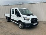 FORD TRANSIT 350 2.0 130 BHP ECO BLUE DOUBLE CAB  TIPPER -DOUBLE REAR WHEELS  - 2126 - 11