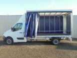 RENAULT MASTER 2.3DCI BUSINESS LL35 130 EURO 6 ** 4.1M CURTAINSIDE ** BRAND NEW ** IN STOCK ** READY TO ROLL  - 1551 - 8